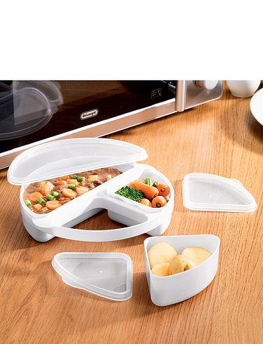 Microwave Dinner- Dish Set