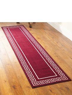 Greek Key Runner - Free Doormat!