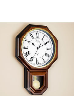 Radio Controlled Pendulum Wall Clock