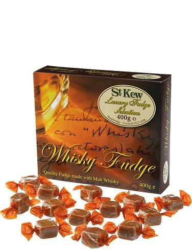 St Kew Luxury Malt Whiskey Fudge Box