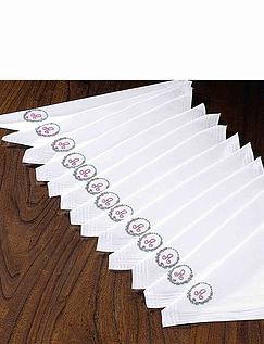 Ladies Baker's Dozen Initialled Handkerchief Set