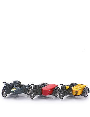 BSA Motorcycle & Side Car- Royal Mail