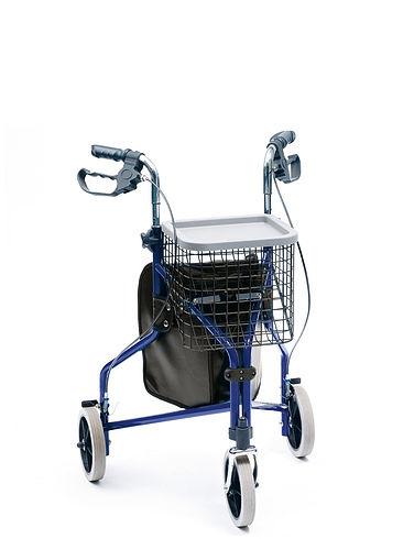 Deluxe Tri-Wheel Walker