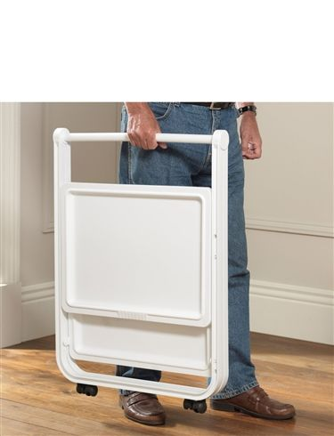 Folding Side And Trolley Table