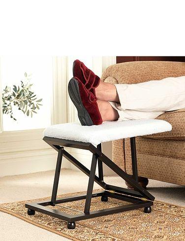 Deluxe Adjustable Footstool