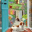 Through The Cottage Door 500pcs Jigsaw 11040