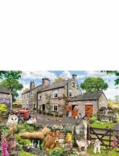 Farmyard Animals Jigsaw
