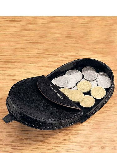 Real Leather Coin Tray