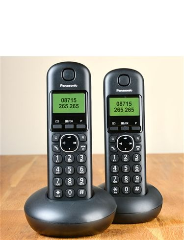 Panasonic Cordless Twin Handsets Telephones