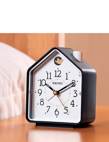 Seiko Bedside Bird Clock