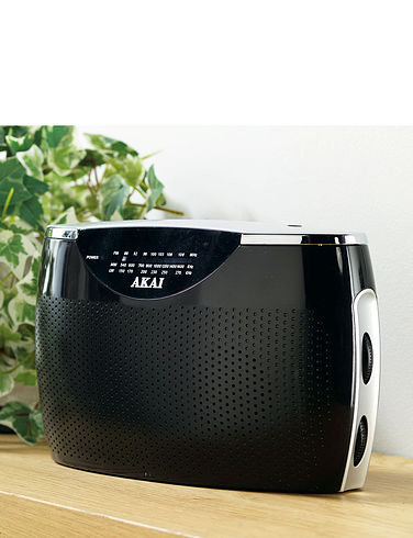 Akai Portable Radio
