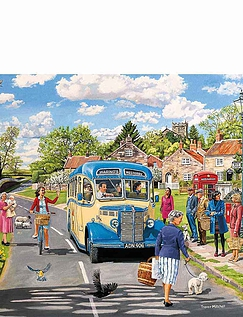 The Country Bus - 4 X 500 Jigsaw Puzzles