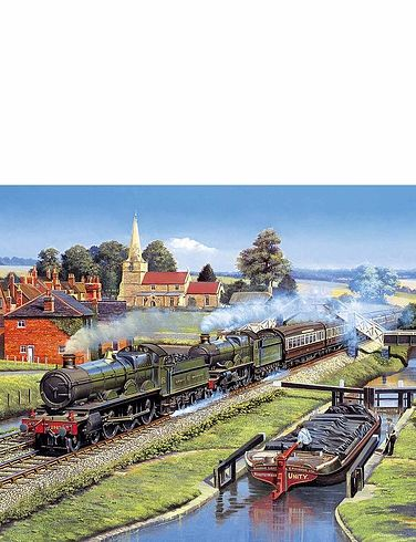 The Glory of Steam Jigsaw 4x500 PC