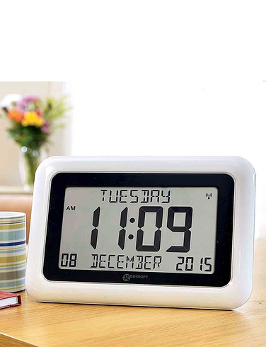 Radio Controlled Day and Date Clock