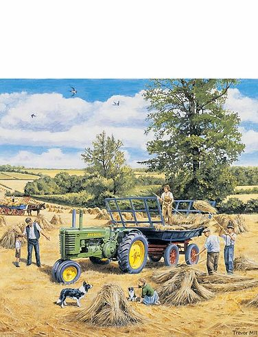 Grovely Set Of 4 British Classic Cars Jigsaw Puzzles