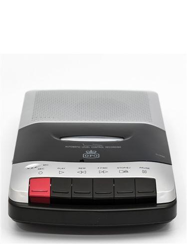 GPO Portable Cassette Recorder