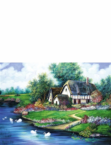Time Of the Year 4 x 500pc Jigsaw Puzzles