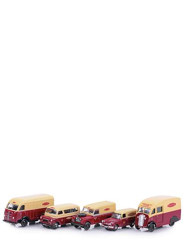Set of 5 British Rail Vehicles