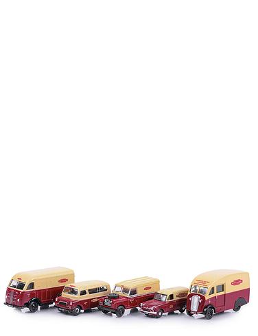 Set Of Five British Rail Vehicles