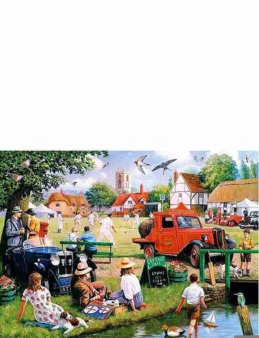 Village Green - Boxed Set Jigsaw
