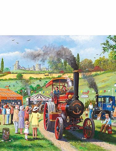 Come For A Ride 636Pc Jigsaw Puzzle