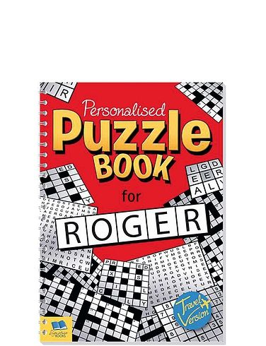 A5 Puzzle Book
