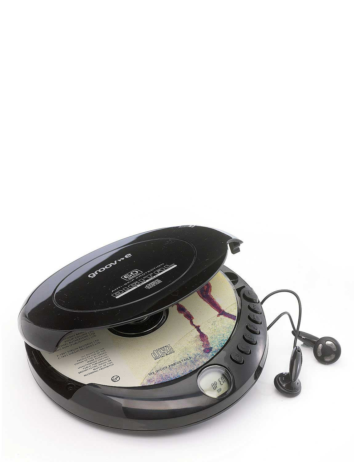 Portable Personal CD Player  - Black