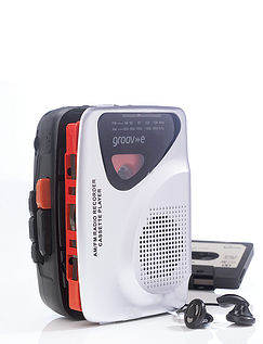 Groove Personal Cassette Player/ Recorder With Radio and Speaker