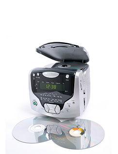 CD Cube - Dual Alarm, Radio And CD Player