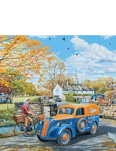 Farm Services 1000Pc Jigsaw Puzzle