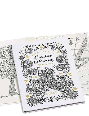 Creative A5 Colouring Book