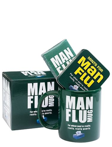 Mug And Mints Man Flu Gift Set