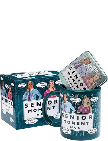 Mug And Mints Senior Moments Gift Set