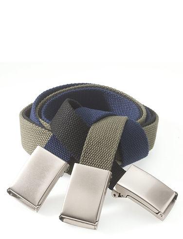 Military-Style Easy Adjust Belt Set