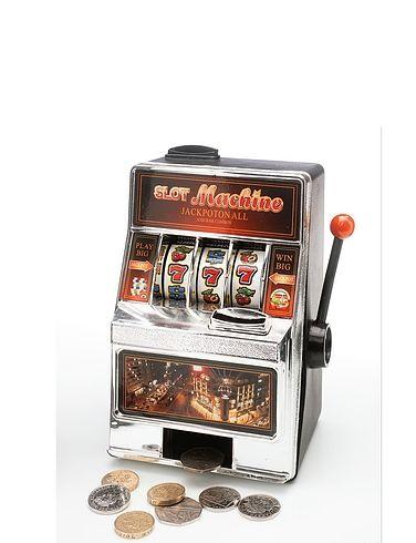 2-IN-1 Slot Machine Money Box