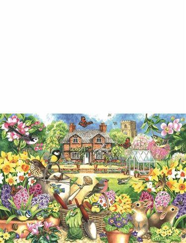 1000pc Jigsaw Puzzle Spring Garden