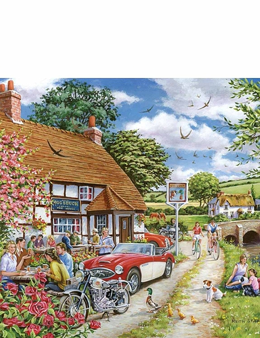 1000 pc Jigsaw Puzzle Sunday Lunch