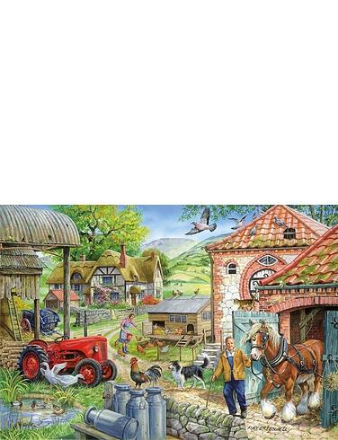 1000 pc Jigsaw Puzzle Manor Farm