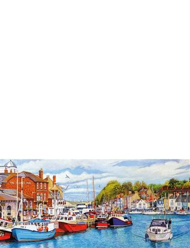 Gibsons 636 Puzzles  Whitby Harbour