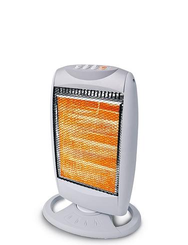 Upright Oscillating Halogen Heater