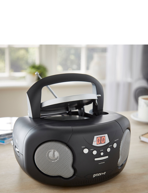 2 -1 Stereo System - Portable Retro Radio