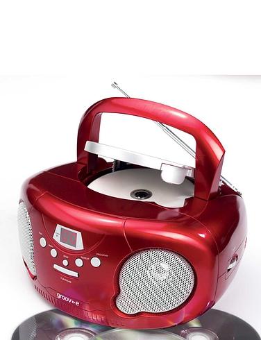 Groove Radio CD Player