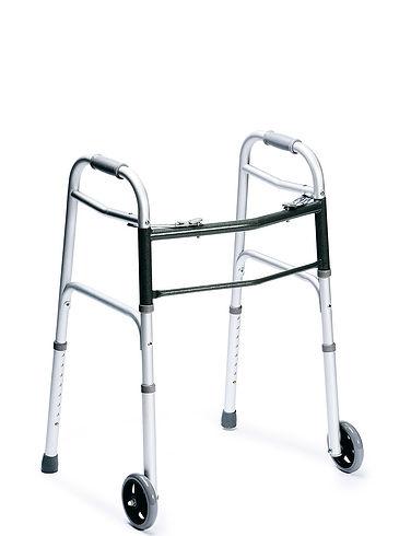 Ultra Slim Wheeled Walking Frame