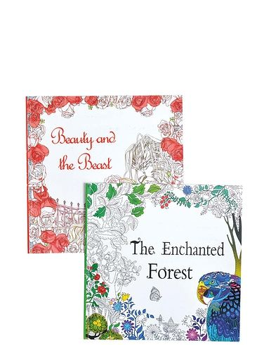 Set Of 4 Colouring Books