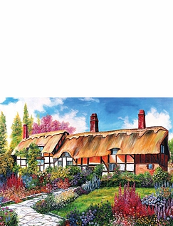 Country Cottages Jigsaw