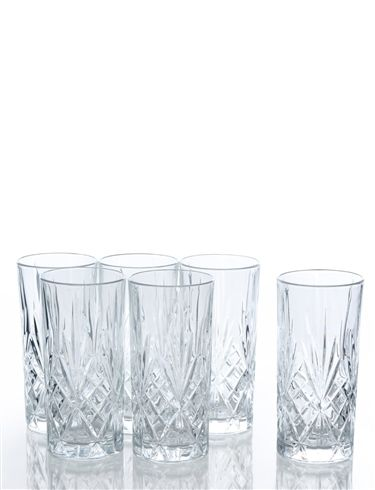 High Quality Crystal High Ball Glasses