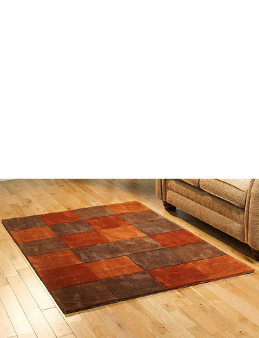Hand Tuffted Squared Rug