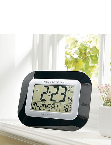 Radio Controlled Digital Calendar Clock