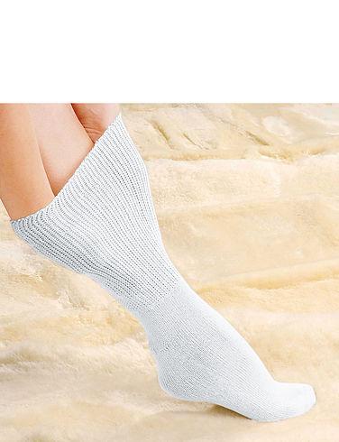 Non-Binding Diabetic Socks