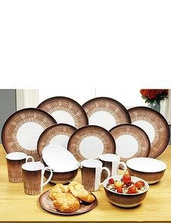 Shatter-Free Crockery 16 Piece Set